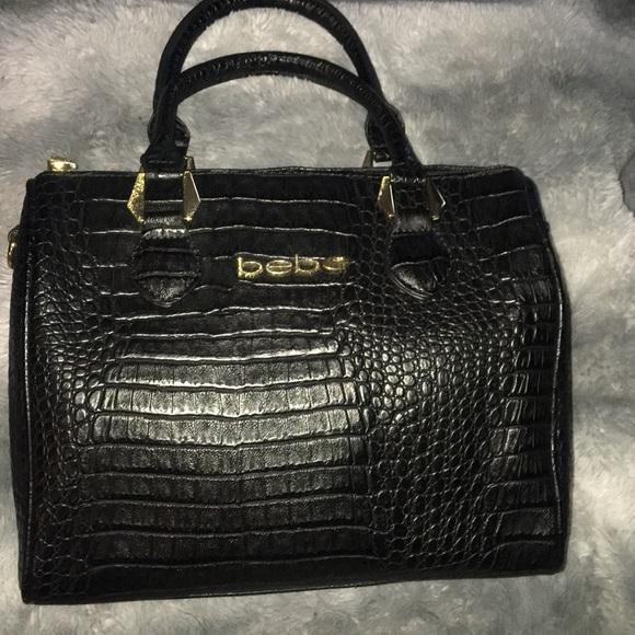 bebe Handbags - 😎 Very cool bebe's black medium satchel 😎